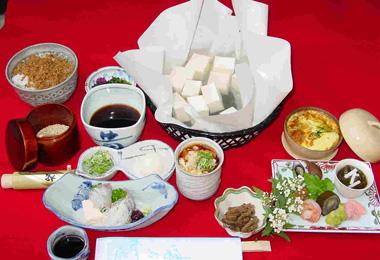 湯豆腐弁当